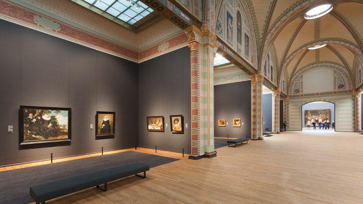 Diferite spații din Rijksmuseum, Amsterdam – Philips Lighting