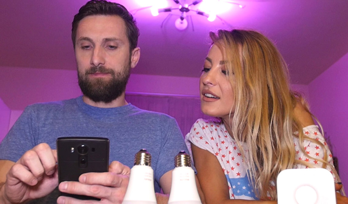Dani Otil a realizat un review video pentru Philips Hue