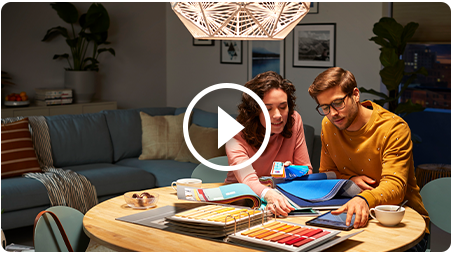 Color rendering video
